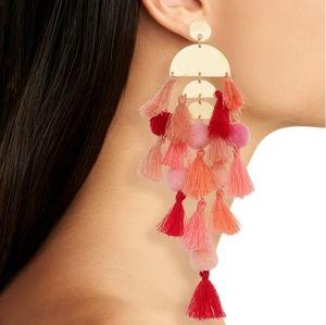 Stella & Ruby calypso tassel earrings